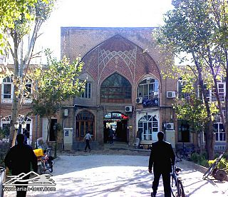 The Bazaar of Tabriz  2