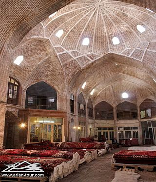 The Bazaar of Tabriz  3