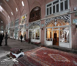 The Bazaar of Tabriz  4