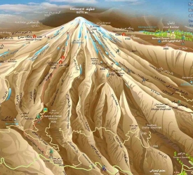 DAMAVAND CLASSIC ROUTE (5 days)